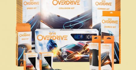 Win Anki Overdrive Robotic Supercars: Mega Bundle, Complete Tracks Kit with all additional accessories. A Magic made by science. All Worth £799.
