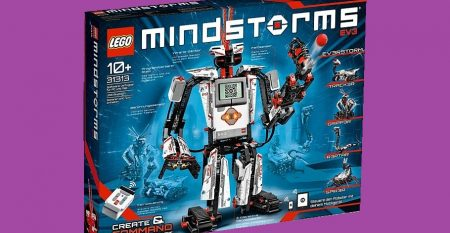 Win LEGO Mindstorms EV3 Complete Set. Create and command your own robots that can walk, talk and think.