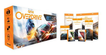 Win Anki Overdrive Robotic Cars: World's most intelligent battle racing system. Mega Bundle + Tracks Kit.